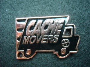 I found a cache movers geocoin in Utah