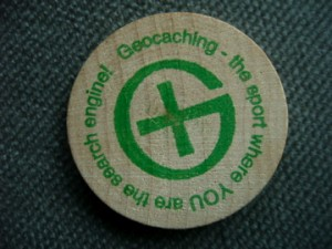 Wooden Nickel Geocoins