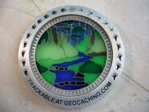 Suncatcher Naturewalk Geocoin