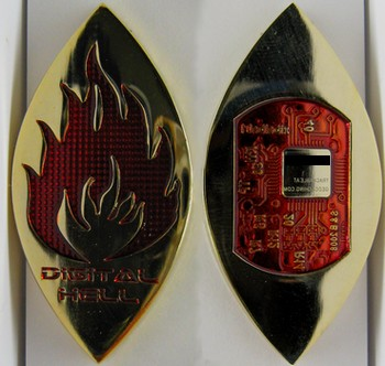 Digital Hell Geocoin