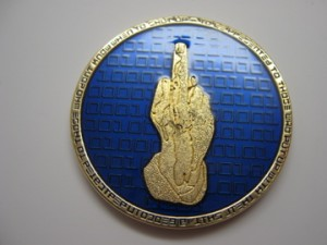 The elusive gold binary geocoin
