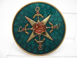 Valentine Compass Rose Geocoin