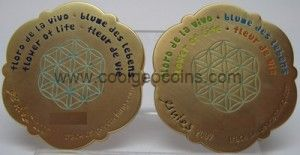 2 geocoins flower of life 300x155 Flower of Life Geocoin